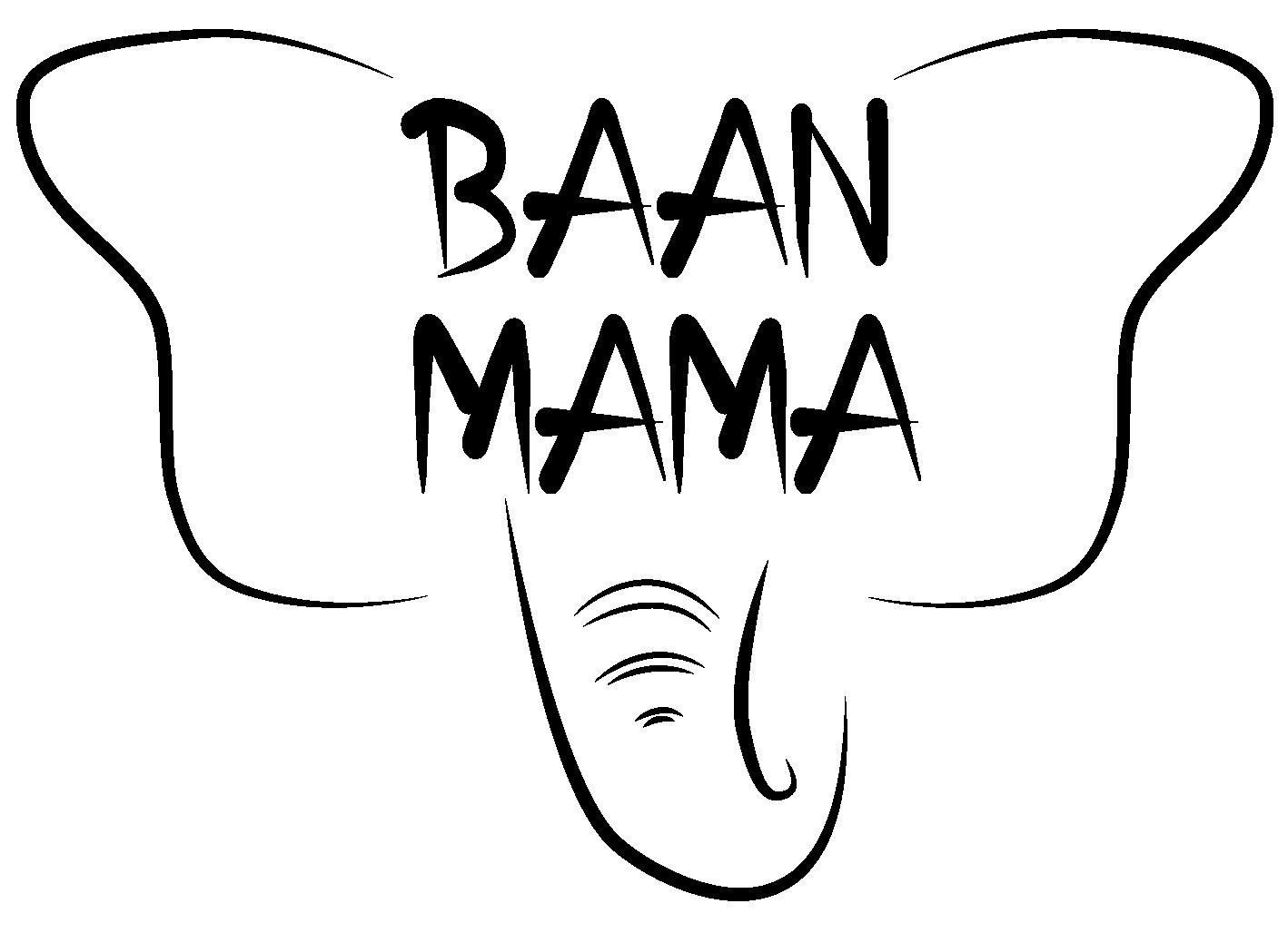 Logo Baan Mama Elephant