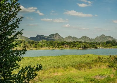 Vue sur la rivière Kwaï