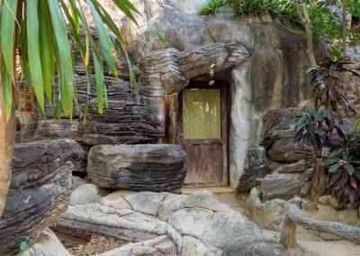 Vue extérieur de la Chambre Grotte 6 personnes